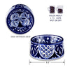 Mexican Tile Inspired Dog Dish, , Dish, Small Dog Mall, Small Dog Mall - Good things for little dogs.  - 2