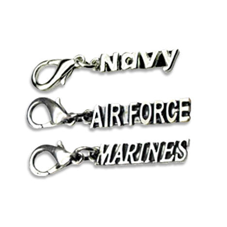 Military Dog Collar Charms, , Collar Pendant, Small Dog Mall, Small Dog Mall - Good things for little dogs.  - 1