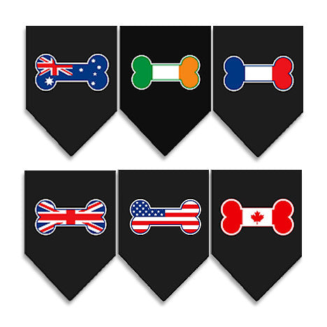 Dog Bandanas – Fly Your Flag!, , Collar, Small Dog Mall, Small Dog Mall - Good things for little dogs.  - 1