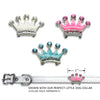 Enamel & Crystal Crowns Dog Collar Slide, , Slide, Small Dog Mall, Small Dog Mall - Good things for little dogs.  - 2
