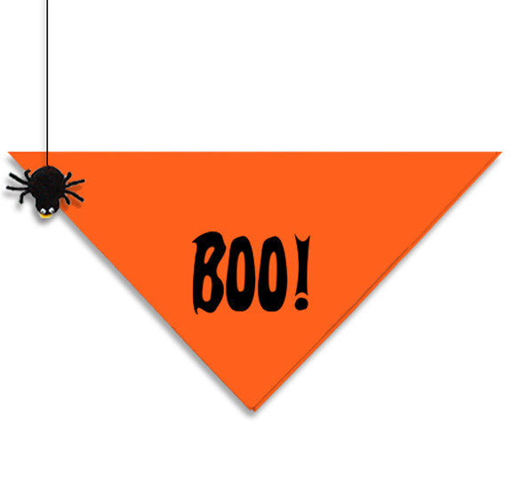 BOO! Halloween Bandana for Small Dogs