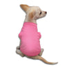 Bubblegum Pink Tank Style Dog T-Shirt, , Tee, Small Dog Mall, Small Dog Mall - Good things for little dogs.  - 1