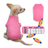 Bubblegum Pink Tank Style Dog T-Shirt, , Tee, Small Dog Mall, Small Dog Mall - Good things for little dogs.  - 2