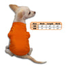 Orange Tank Style Dog T-Shirt, , Tee, Small Dog Mall, Small Dog Mall - Good things for little dogs.  - 2