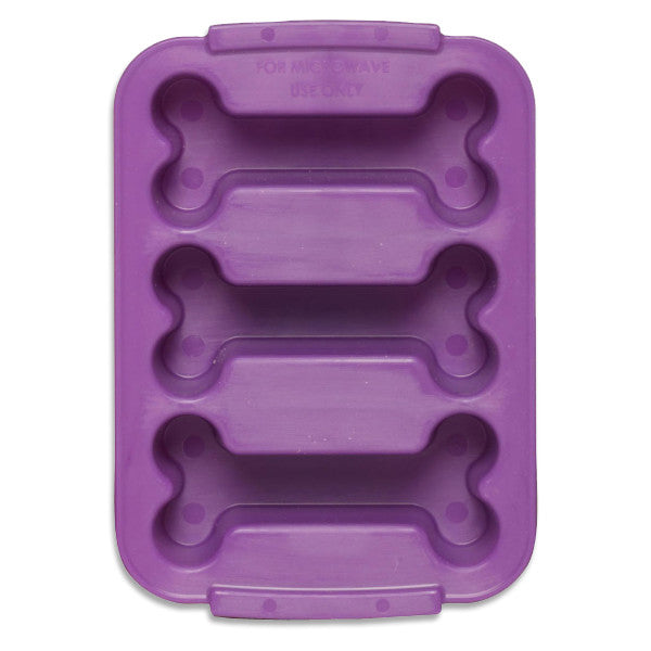 PetCakes 3 Bone Treat Mold