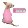 Pink Tank Style Dog T-Shirt, , Tee, Small Dog Mall, Small Dog Mall - Good things for little dogs.  - 2