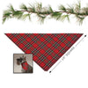 Tartan Holiday Neck Scarf for Dogs, , Christmas, Small Dog Mall, Small Dog Mall - Good things for little dogs.  - 2
