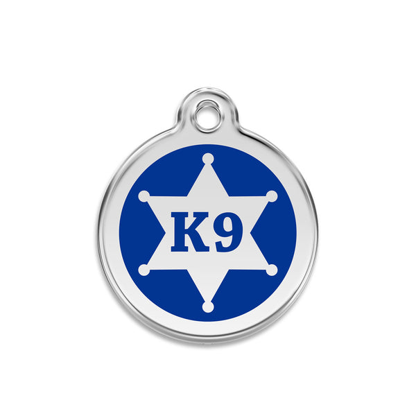 K9 Dog ID Tag, , ID Tag, Small Dog Mall, Small Dog Mall - Good things for little dogs.  - 1