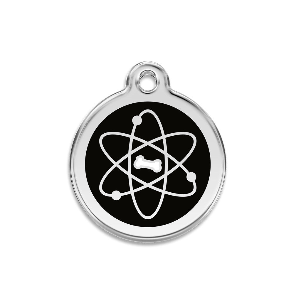 Atomic Bone Small Dog ID Tag, ID Tag, Small Dog Mall, Small Dog Mall - Good things for little dogs.  - 1