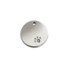 Diamante Round ID Tag, , ID Tag, Small Dog Mall, Small Dog Mall - Good things for little dogs.  - 1