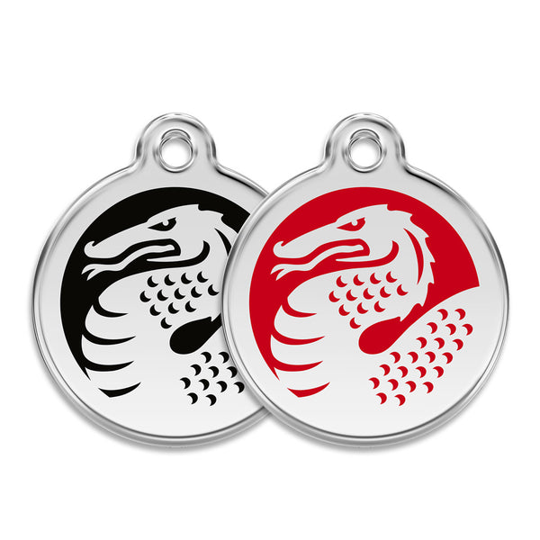 Dragon Dog ID Tag, , ID Tag, Small Dog Mall, Small Dog Mall - Good things for little dogs.  - 1