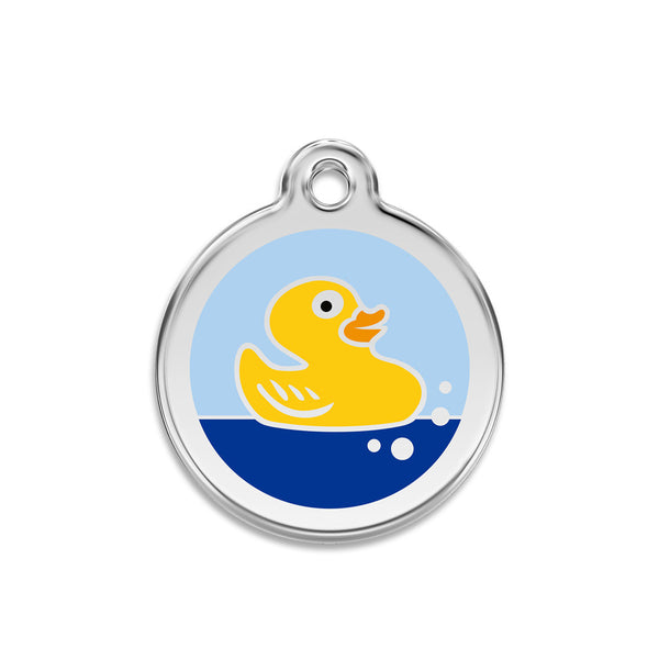 Just Ducky Dog ID Tag, , ID Tag, Small Dog Mall, Small Dog Mall - Good things for little dogs.  - 1