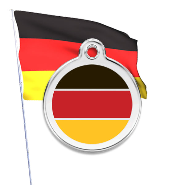 Germany Dog ID Tag, , ID Tag, Small Dog Mall, Small Dog Mall - Good things for little dogs.  - 1
