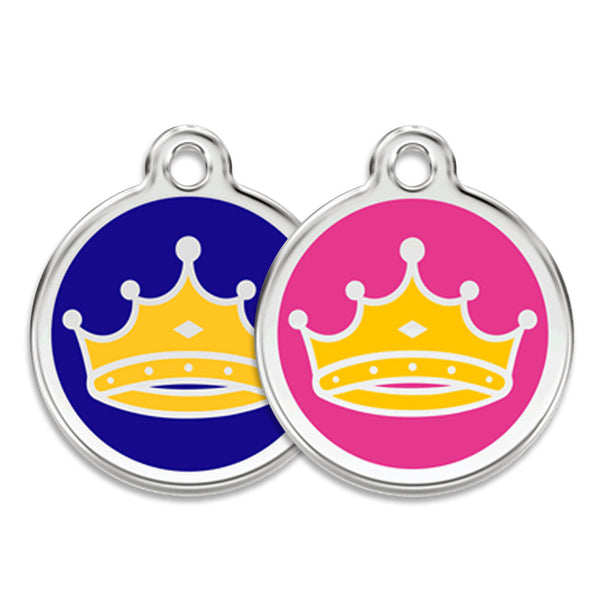 King or Queen Dog ID Tag, , ID Tag, Small Dog Mall, Small Dog Mall - Good things for little dogs.  - 1