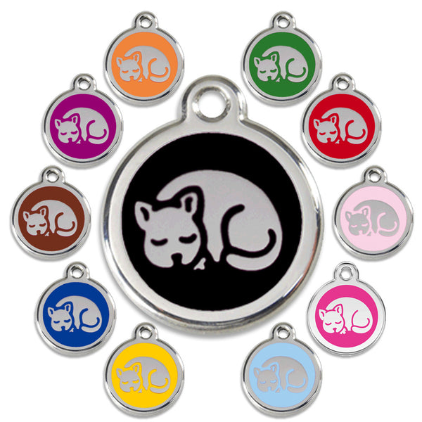 Red Dingo Kitty Design Cat ID Tag