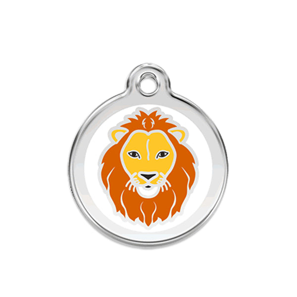 Red Dingo Lion Dog ID Tag