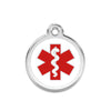Medic Alert Dog ID Tag, , ID Tag, Small Dog Mall, Small Dog Mall - Good things for little dogs.  - 1