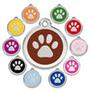 Paw Dog ID Tag, , ID Tag, Small Dog Mall, Small Dog Mall - Good things for little dogs.  - 1
