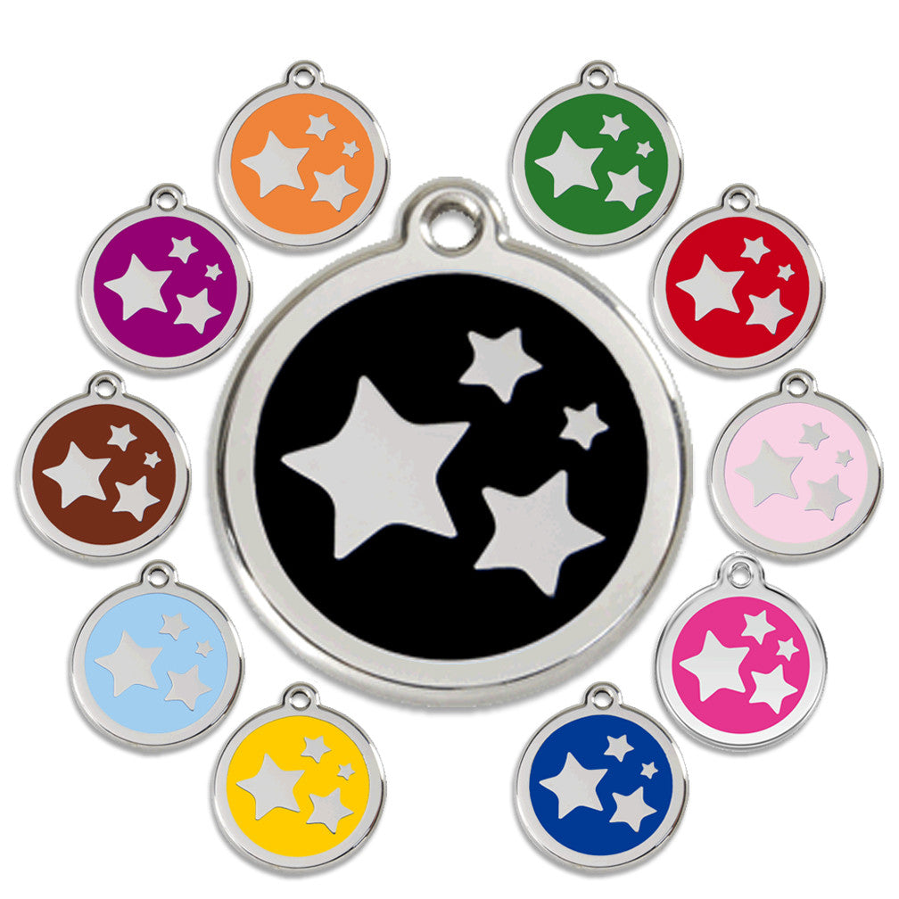 Star Light, Star Bright Dog ID Tag, ID Tag, Small Dog Mall, Small Dog Mall - Good things for little dogs.  - 1