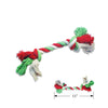 Holiday Rope Small Dog Toy, Christmas, Small Dog Mall, Small Dog Mall - Good things for little dogs.  - 2