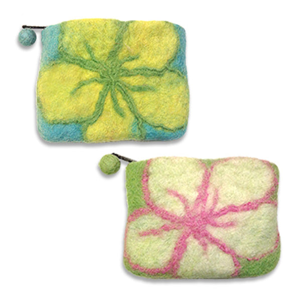 Felt Floral Dog Walking Purse, , People Pleasers, Small Dog Mall, Small Dog Mall - Good things for little dogs.  - 1