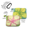 Felt Floral Dog Walking Purse, , People Pleasers, Small Dog Mall, Small Dog Mall - Good things for little dogs.  - 2