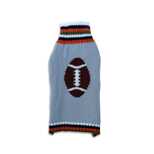 Football Dog Sweater, , Sweaters, Small Dog Mall, Small Dog Mall - Good things for little dogs.  - 1