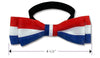 Red, White & Blue Dog Bowtie Collar, , Collar, Small Dog Mall, Small Dog Mall - Good things for little dogs.  - 4
