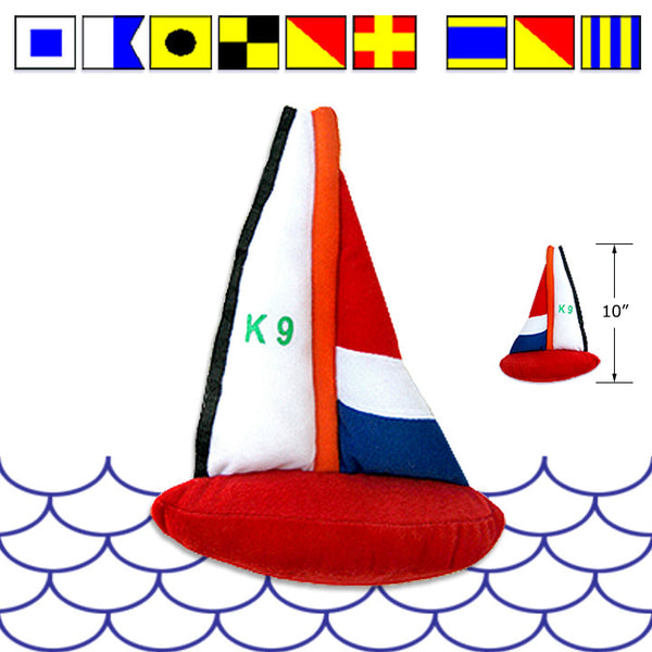 Sail Boat Small Dog Toy