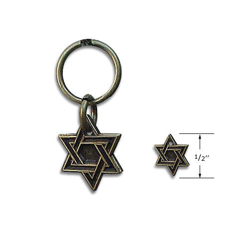 Star of David Dog Collar Charm, Chewish, Small Dog Mall, Small Dog Mall - Good things for little dogs.  - 2