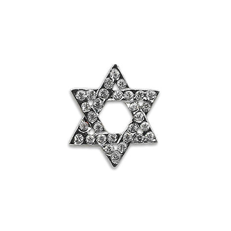 Crystal Star of David Dog Collar Slide, Chewish, Small Dog Mall, Small Dog Mall - Good things for little dogs.  - 1