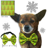 Holiday Small Dog Bow Tie Collar