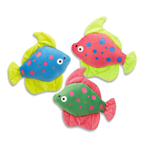 Tropical Fish Dog Toy, , Toy, Small Dog Mall, Small Dog Mall - Good things for little dogs.  - 1