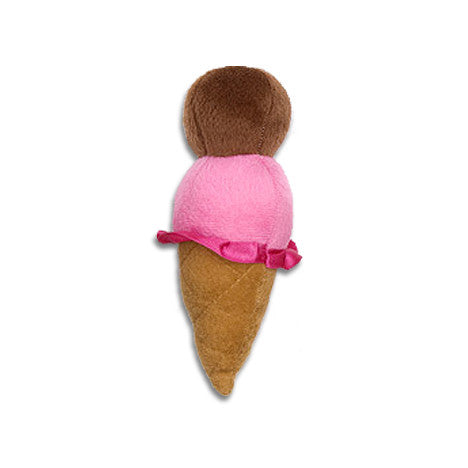 Plush Cool Cone Small Dog Toy - Two Scoops Of Fun, Toy, Small Dog Mall, Small Dog Mall - Good things for little dogs.  - 1
