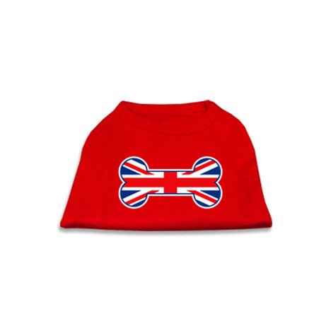United Kingdom Tank Style Dog T-Shirt, , Tee, Small Dog Mall, Small Dog Mall - Good things for little dogs.  - 1
