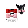 Valentine Bow Tie Dog Collars, , Valentine's, Small Dog Mall, Small Dog Mall - Good things for little dogs.  - 2