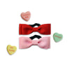 Valentine Bow Tie Dog Collars, , Valentine's, Small Dog Mall, Small Dog Mall - Good things for little dogs.  - 1