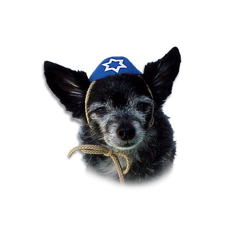 Dog Yarmulke, Chewish, Small Dog Mall, Small Dog Mall - Good things for little dogs.  - 1