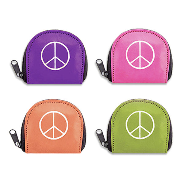 Peace Coin Purse, , People Pleasers, Small Dog Mall, Small Dog Mall - Good things for little dogs.  - 1