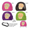 Sugar Skull Coin Purse, , People Pleasers, Small Dog Mall, Small Dog Mall - Good things for little dogs.  - 2
