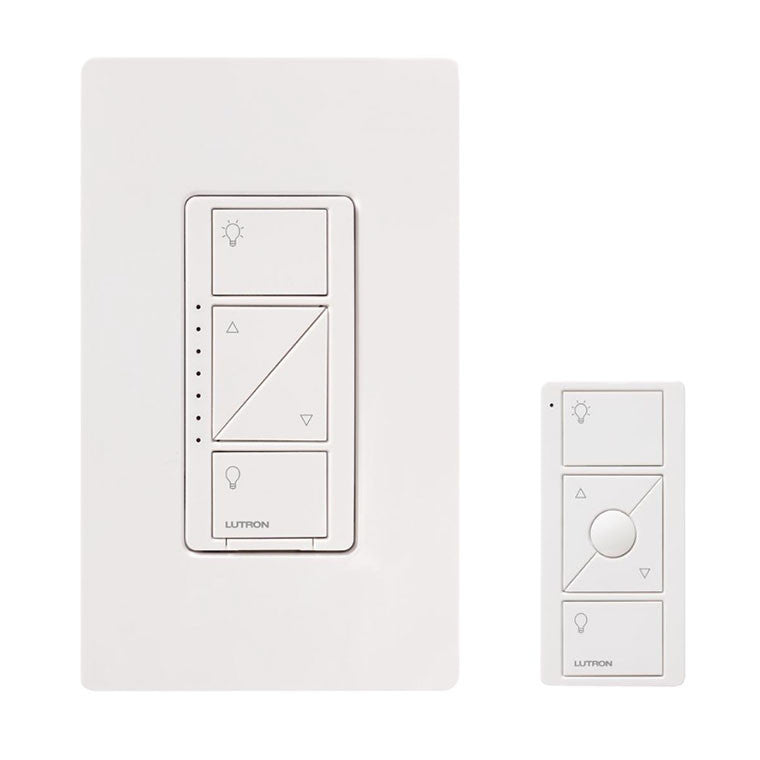 lutron caseta wireless in wall dimmer with pico remote control kit living audio video. Black Bedroom Furniture Sets. Home Design Ideas