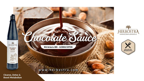 A HEALTHIER VERSION OF LIP-SMACKING CHOCOLATE SAUCE