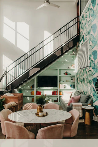 Pink and Green Suite