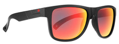 Legend / Matte Black / Fire Mirror ColorBoost Polarized Smoke Lens