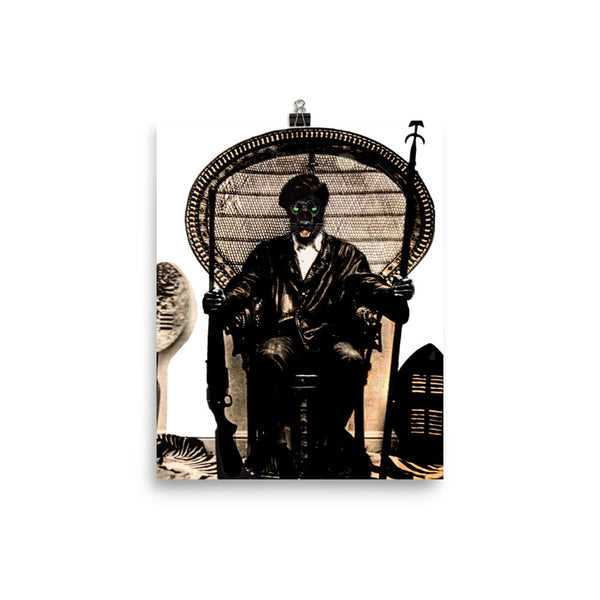 Huey Power Throne (Photo paper poster)