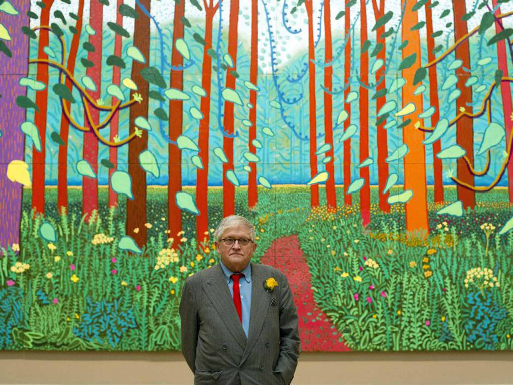 David Hockney - What turns a picture into a masterpiece