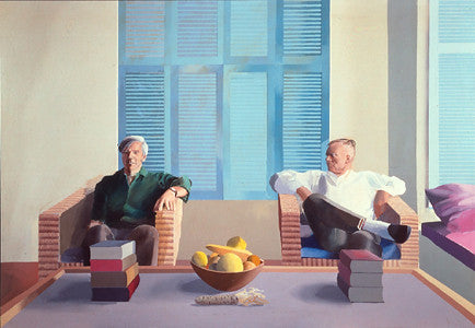 David Hockney's singular journey through portraits and pools