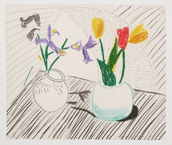 David Hockney, White Porcelain, 1985/6 -