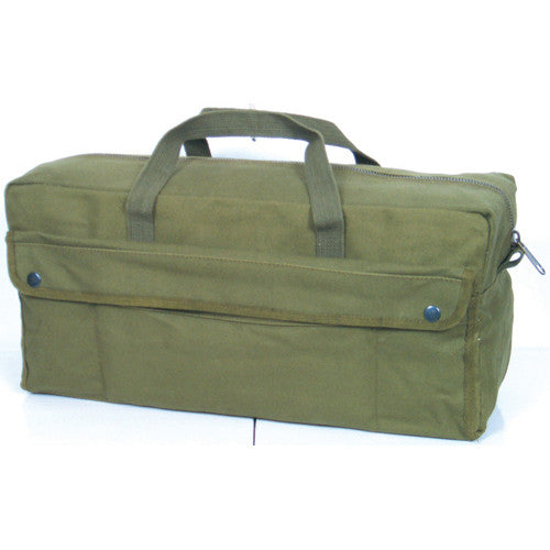 Jumbo Mechanics Tool Bag With Brass Zipper