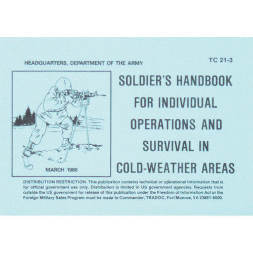 Soldiers Cold Weather Survival Handbook